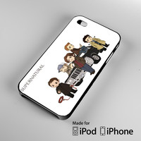 Supernatural Characters iPhone 4 4S 5 5S 5C 6, iPod Touch 4 5 Cases