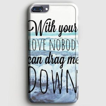 One Direction Drag Me Down Lyric iPhone 8 Plus Case | casescraft