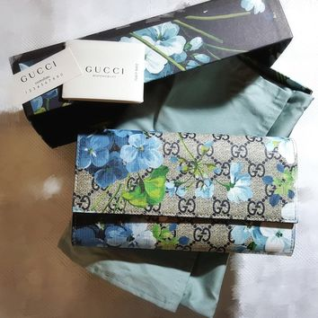 Gucci GG Blooms Continental Wallet RRP £405