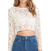 Assali The Freeze Top in Ivory