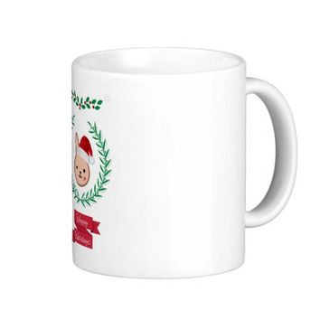 Happy Holidays! Basic White Mug
