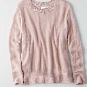 AEO Ahh-mazingly Soft Crew Sweater , Pink