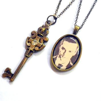 Sherlock's Jim Moriarty: The Man With The by vintagehomage on Zibbet