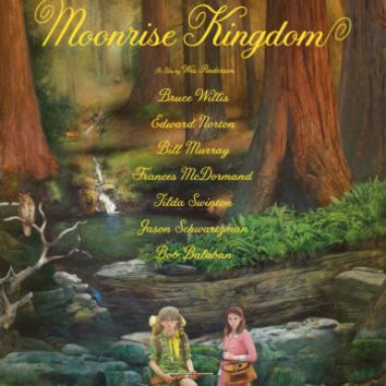 Moonrise Kingdom Movie Poster 24inx36in Poster
