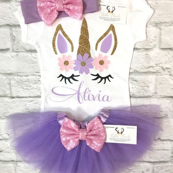 Baby Girl Clothes, Unicorn Shirts, Unicorn, Personalized Shirts, Monogram Shirts, Unicorn Bodysuits, Monogram Bodysuits, Baby Shower Gifts