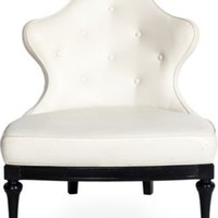 One Kings Lane - Kelly Wearstler: Modern Glamour - Faux-Leather Slipper Chair