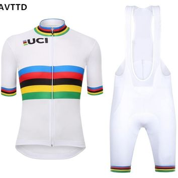 UCI Pro Cycling jersey Bike Cycling Clothing Quick Dry Tour de Franc Bicycle Wear Roupa Ciclismo Maillot Clothing