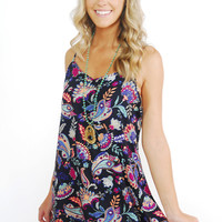 Paisley Pi Mini Dress