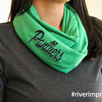 PANTERS t-shirt infinity scarf, or your choice of mascot