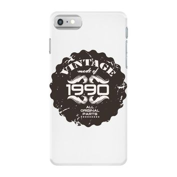 vintage made of 1990 all original parts iPhone 7 Case