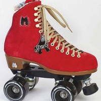 Moxi Lolly Red Outdoor Roller Skates - Square Cat Skates
