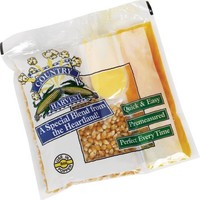 Country Harvest Popcorn Portion-Pack for 8-Ounce Poppers (Mega Case, 40-Count)
