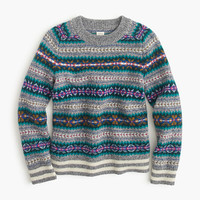 crewcuts Boys Lambswool Crewneck Sweater