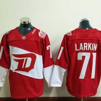 Stadium Series Detroit Red Wings Nhl Ice Hockey   #71 Dylan Larkin jerseys #13 Datsyuk 5 Lidstrom 9 howe Gordie 40 Zetterberg