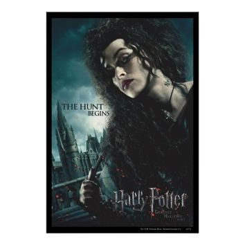 Deathly Hallows - Bellatrix Lestrange 2 Poster