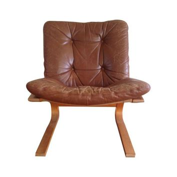 Pre-owned Danish Modern Lounge Chair by Rykken of Norway
