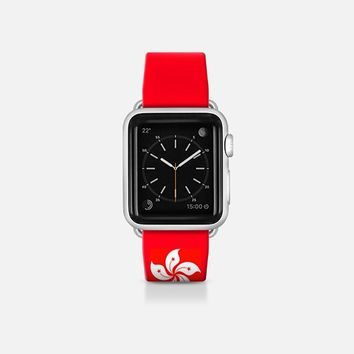 Honk Kong flag  - Patriot collection Apple Watch Band (38mm)  by WAMDESIGN | Casetify