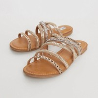 Not Rated B Me Sandals - Tan