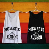 Hogwarts Alumni Harry Potter best design clothing for Tank top mens and Tank top girls size S,M,L,XL,XXL