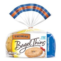Thomas' Bagel Thins Everything - 8 CT - Walmart.com
