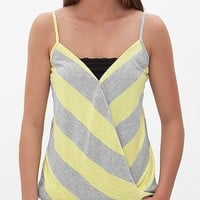 BKE Red Striped Tank Top