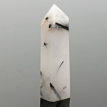 New Chic Natural Rainbow Moonstone Obelisk Point Crystal Quartz Stone Tower Wand Healing Gemstone DIY Crafts Home Decor Ornament