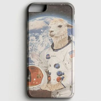 Astronaut Llama Space iPhone 8 Case
