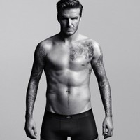 Shirtless David Beckham Poster Los Angeles Galaxy Black and White 20x30 Photo