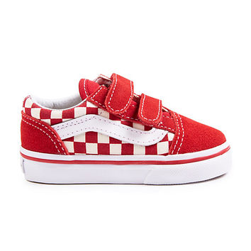 Toddler Primary Check Old Skool V | Shop At Vans