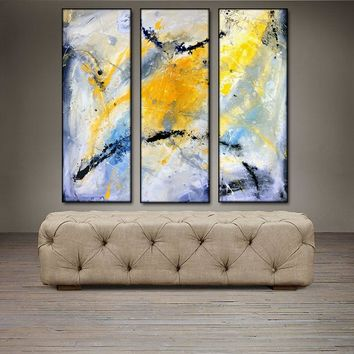 """'April 005' - 30"""" X 30"""" Original Abstract  Art.  Free-shipping within USA & 30 day return Policy."""