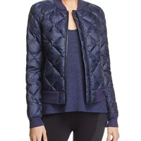 Alo YogaIdol Camo Quilted Bomber Jacket