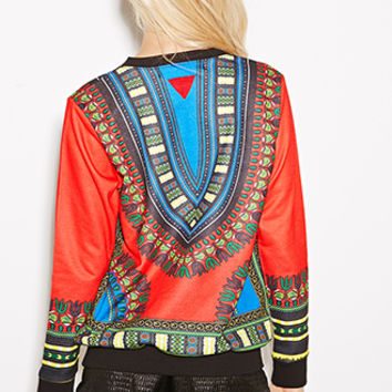 Bass Tribal Print Sweatshirt