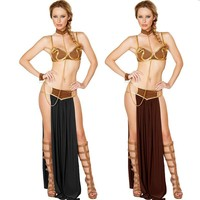 Sexy New Women Cosplay Halloween Party Costumes Sexy Slave Costume