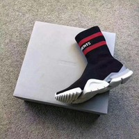 NOV9O2 Vetement x Reebok Custom Speed Stretch Knit Socks Shoes