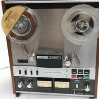 Teac A-6300 Reel To Reel (4 Track Two Channel) - Serviced And Calibrated, See Pics For Cosmetics