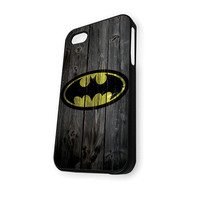 Batman Wood Logo iPhone 5C Case