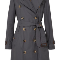 Burberry - The Kensington cotton-gabardine trench coat
