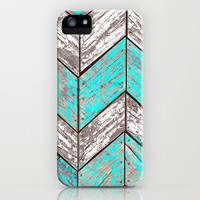 SHORELINE CHEVRONS (1 of 3) iPhone & iPod Case by John Medbury (LAZY J Studios)