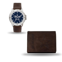 Dallas Cowboys NFL Watch and Wallet Set (Niles Watch)