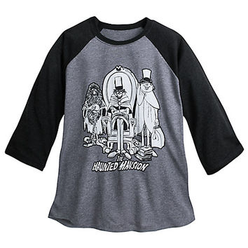 Hitchhiking Ghosts YesterEars Haunted Mansion Raglan Baseball T-Shirt for Adults | Disney Store