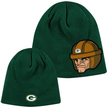 Green Bay Packers Toddler Rush Zone Uncuffed Knit Hat - Green - http://www.shareasale.com/m-pr.cfm?merchantID=7124&userID=1042934&productID=555877649 / Green Bay Packers