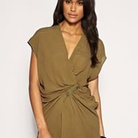 ASOS | ASOS Zip Detail Drapey Tunic at ASOS
