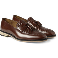 AMI - Leather Tassel Loafers | MR PORTER