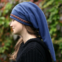 Blue Link hat - Legend of Zelda hat - hippie hat - elven hat - pointy hat