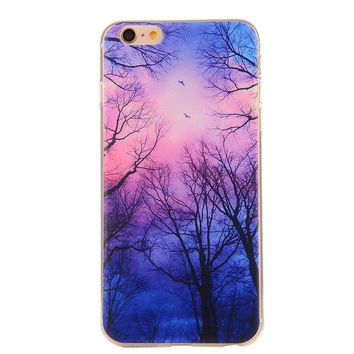 Creative Forest Case Ultrathin Cover for iPhone 5se 5s 6s Plus Gift 42