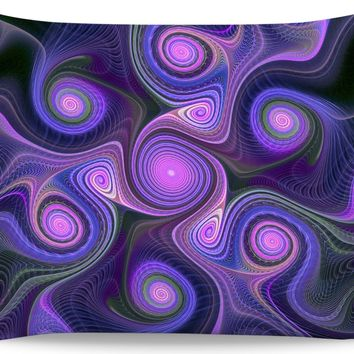 ROB Purple Psych Pillowcase