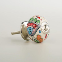 Multicolor Floral Knobs - World Market