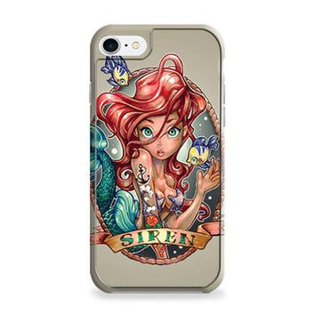 Ariel Little Mermaid Tattoo iPhone 6 | iPhone 6S Case