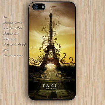 iPhone 5s 6 case Cartoon tower pattern phone case iphone case,ipod case,samsung galaxy case available plastic rubber case waterproof B259