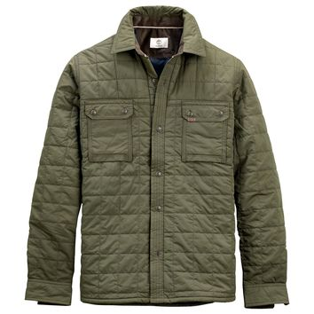 Men's Bass River Quilted Overshirt